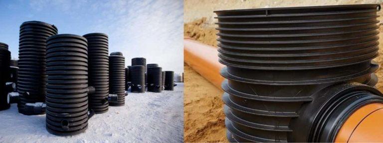 Пластиковые канализационные колодцы: перепадные, пластмассовые, полиэтиленовые, прямоугольные — особенности