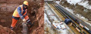 Ремонт водопровода и канализации: городской, внутренней системы, промышленных частей