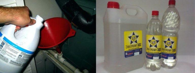 Можно ли прочистить канализацию электролитом: как использовать,  можно ли промыть