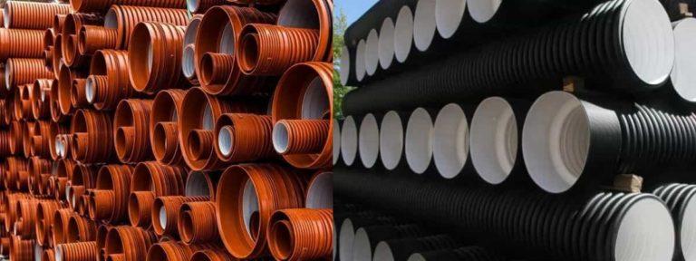 Гофротруба для канализации: гофрированные трубы для внутренней, наружной системы, производство, особенности