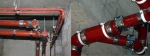 Монтаж чугунной канализации: особенности стыков чугунных канализационных труб