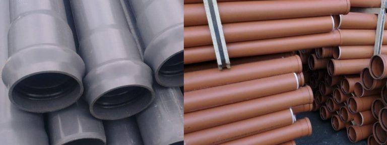 Трубы НПВХ для наружной системы канализации: особенности, достоинства, применение