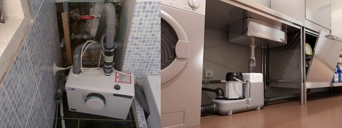 Установка канализационного насоса: принцип работы, виды, правила монтажа
