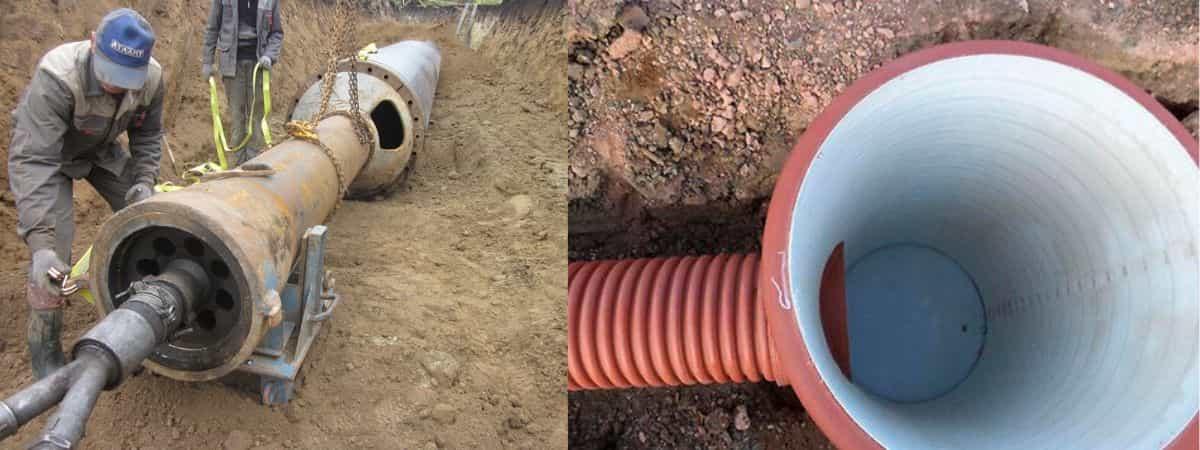 Расстояние от газопровода до колодца канализации