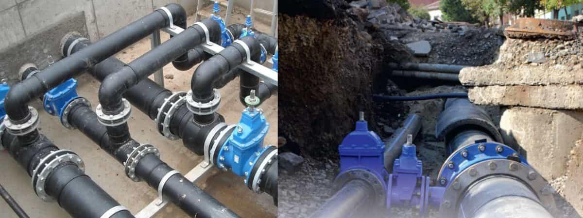 Нормы отвода земель для водопровода и канализации