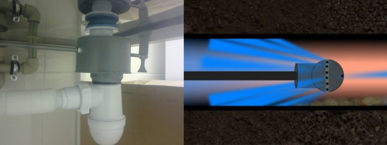 Воздушная пробка в канализации: как устранить, что делать, почему образуется